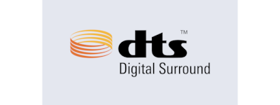 """DTS Digital Surround"" logotipas"