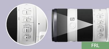 FE 70–200 mm F4 G OSS nuotrauka
