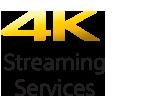 4K transliavimo paslaugų piktograma