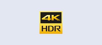 4K HDR piktograma