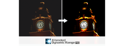 """X-tended Dynamic Range"" logotipas"