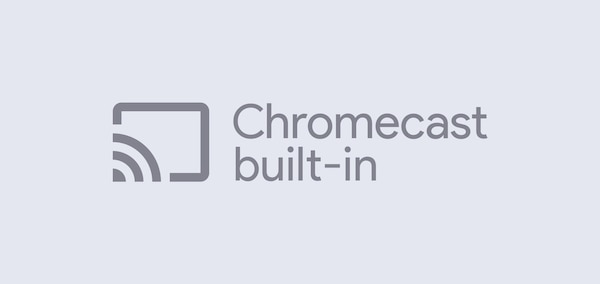 """Chromecast built-in"""