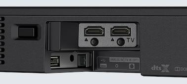 """2.1 kan. """"Dolby Atmos®"""" / DTS:X™ pailgasis garsiakalbis su """"Bluetooth®"""" technologija   HT-XF9000 nuotrauka"""