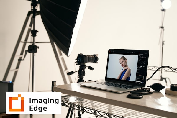 """Imaging Edge™"" funkcijos ""Remote"", ""Viewer"" ir ""Edit"""