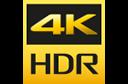 4K HR logotipas