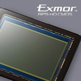 "24,3 MP ""Exmor"" APS HD CMOS jutiklis"