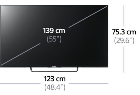 "W75C ""Full HD"" su ""Android TV"" nuotrauka"