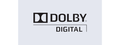 """Dolby Digital"" logotipas"